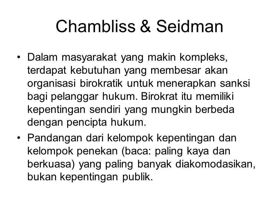Chambliss & Seidman