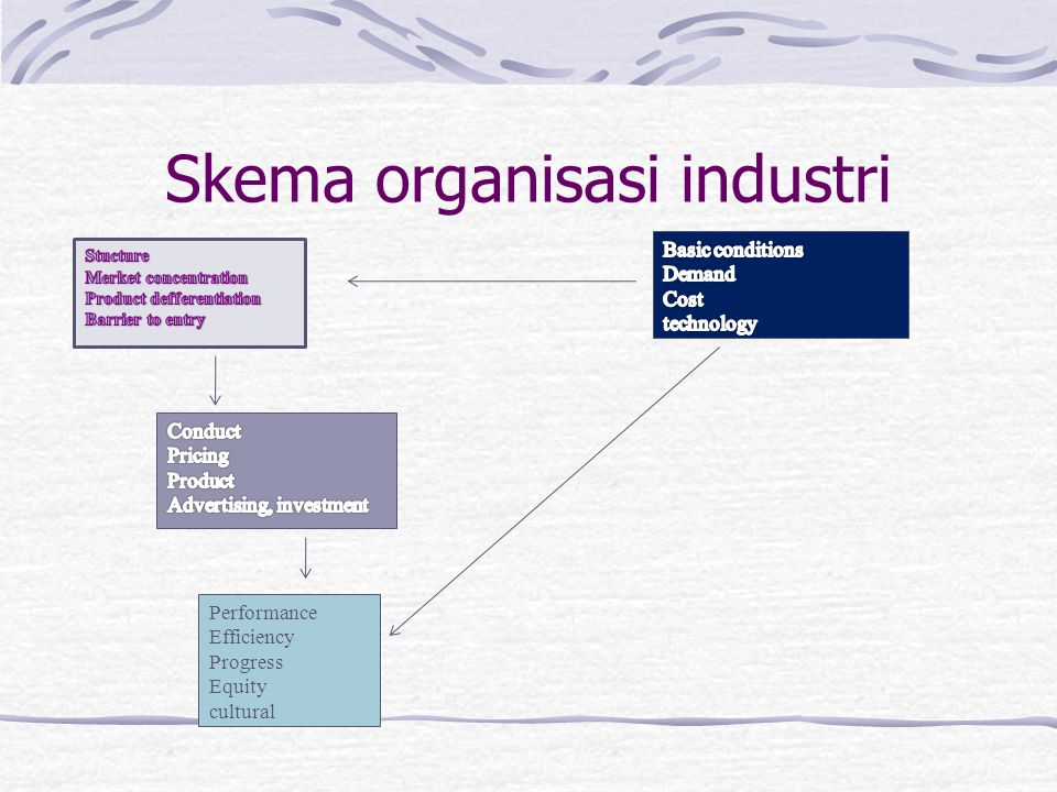 Skema organisasi industri