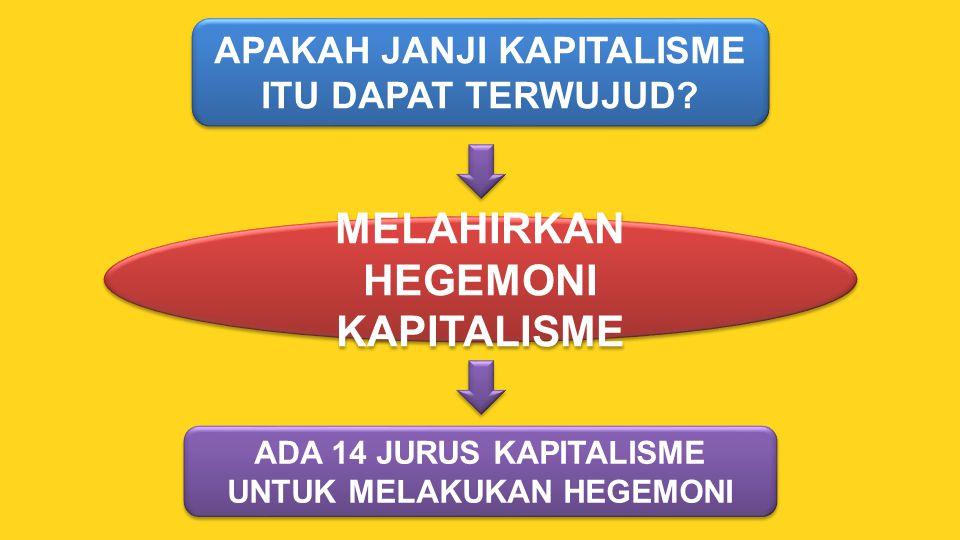 MELAHIRKAN HEGEMONI KAPITALISME