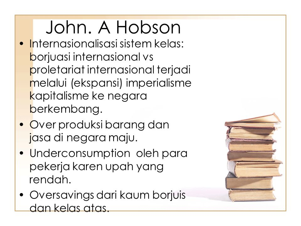 John. A Hobson