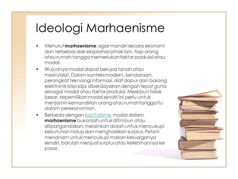 Ideologi Marhaenisme