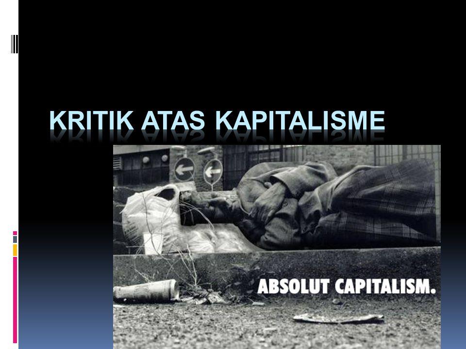 Kritik atas kapitalisme