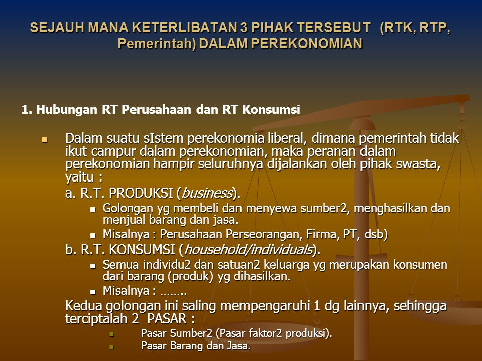 a. R.T. PRODUKSI (business).