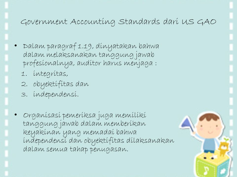 Government Accounting Standards dari US GAO