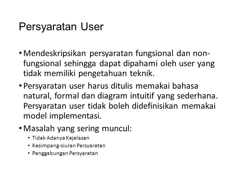 Persyaratan User