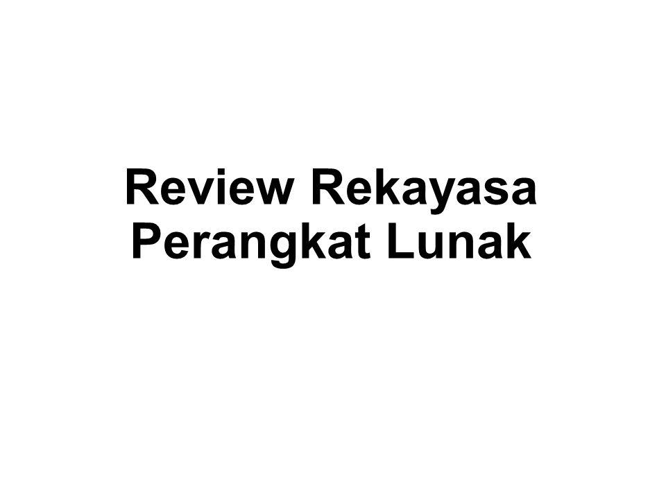 Review Rekayasa Perangkat Lunak