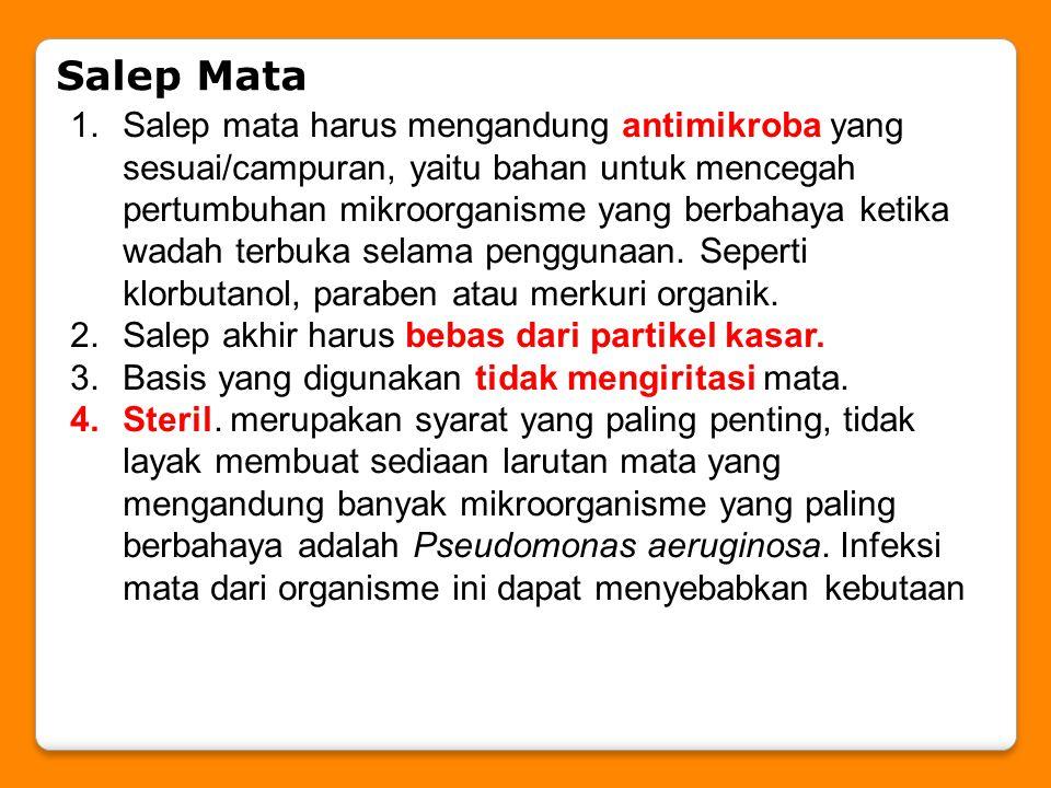 Salep Mata