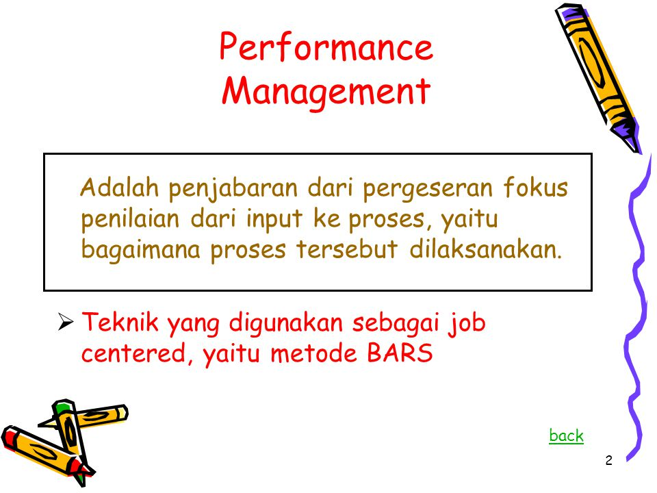 Proses Oriented Performance Management