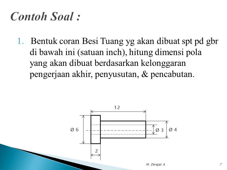 Contoh Soal : 2.