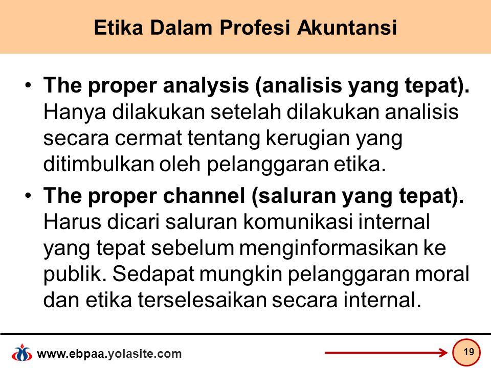 Etika Dalam Profesi Akuntansi