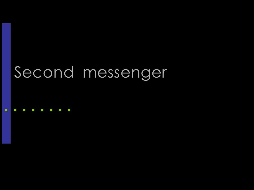 Second messenger