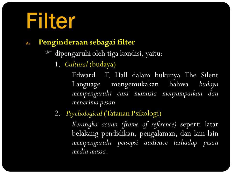 Filter Penginderaan sebagai filter