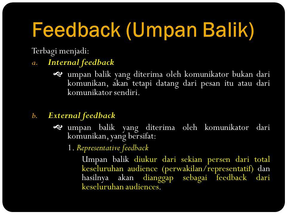 Feedback (Umpan Balik)