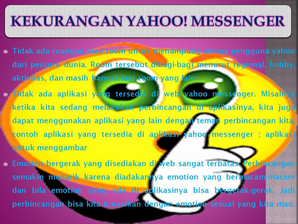 D. KERUGIAN YAHOO MESSENGER