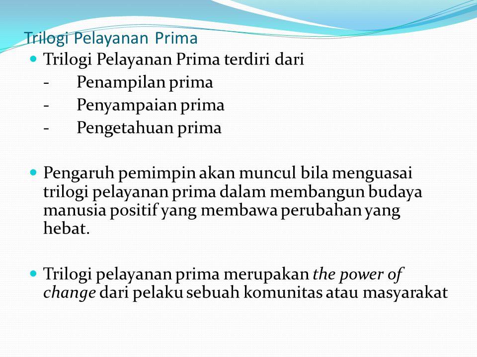 Trilogi Pelayanan Prima