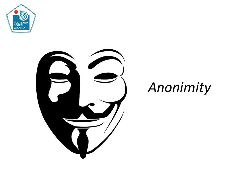 Anonimity