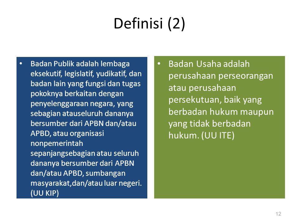 Definisi (2)