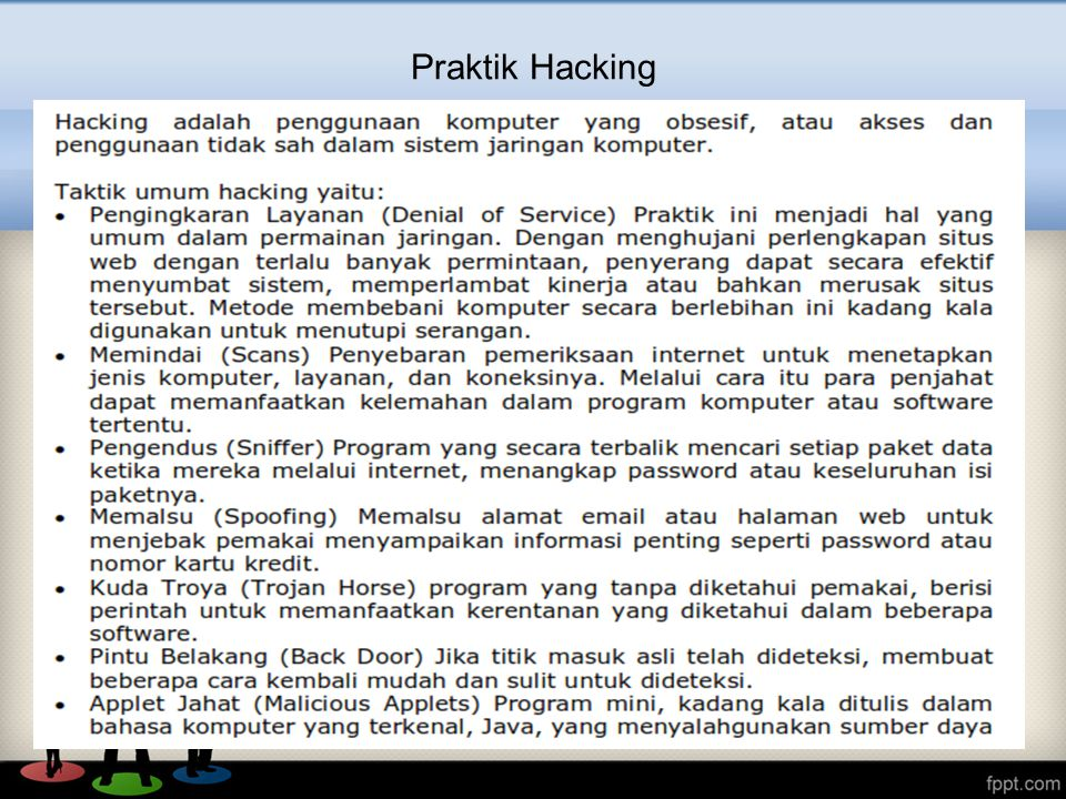 Praktik Hacking