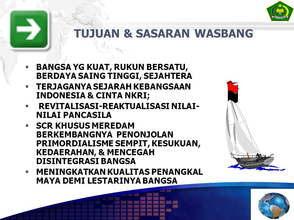 TUJUAN & SASARAN WASBANG