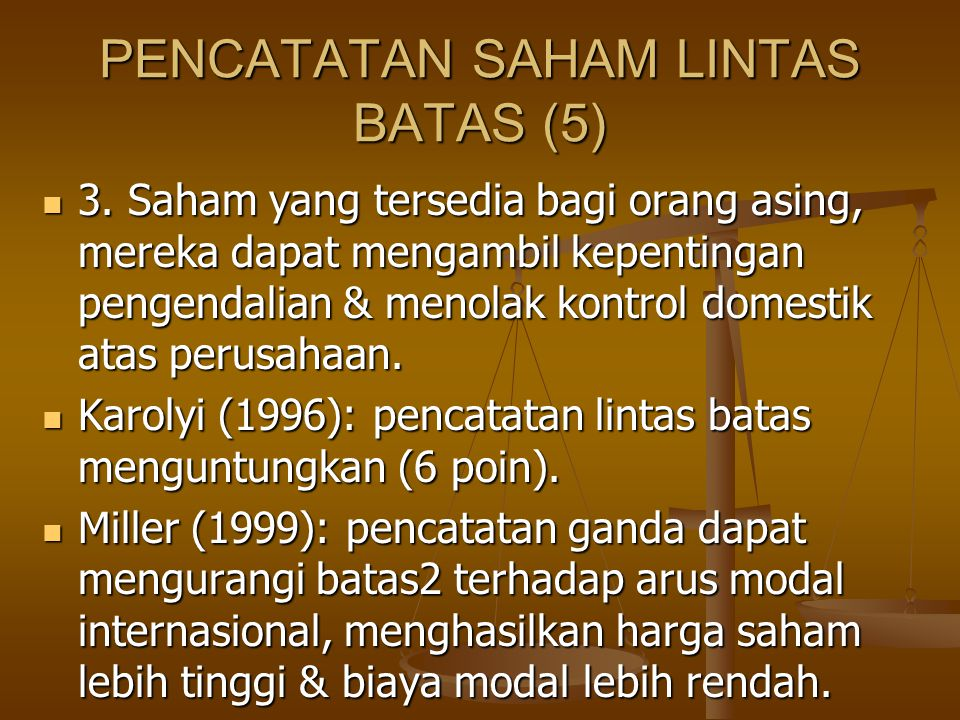 PENCATATAN SAHAM LINTAS BATAS (5)