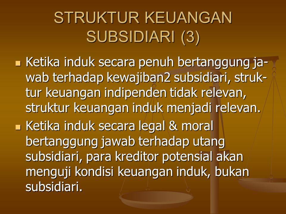 STRUKTUR KEUANGAN SUBSIDIARI (3)