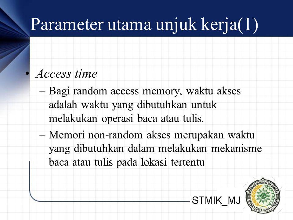 Parameter utama unjuk kerja(1)