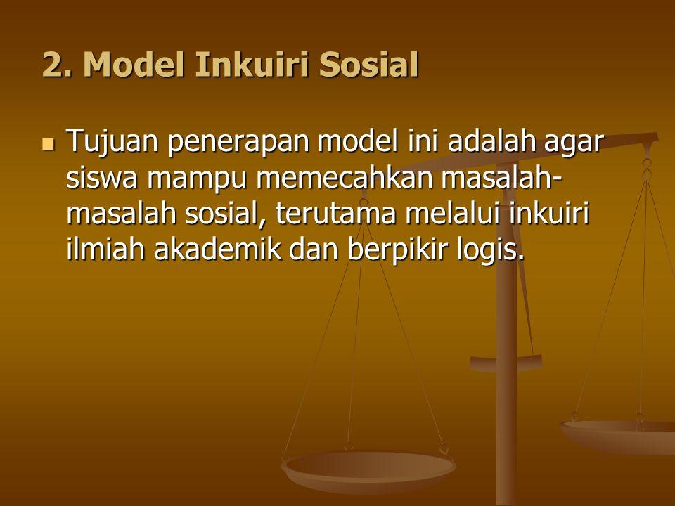 2. Model Inkuiri Sosial