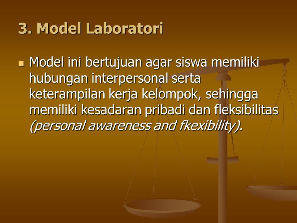 3. Model Laboratori