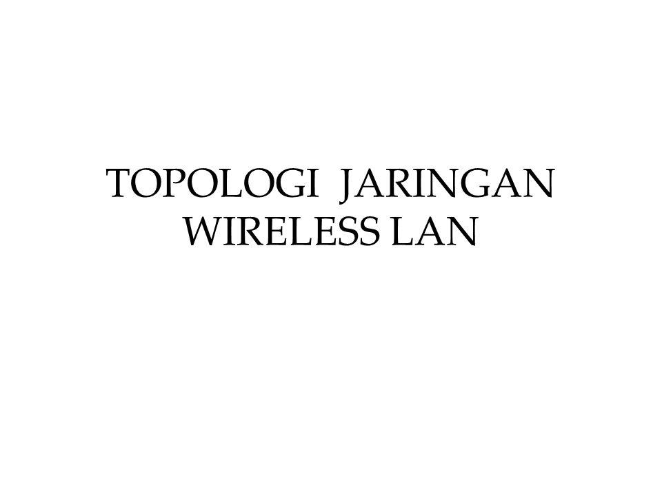 TOPOLOGI JARINGAN WIRELESS LAN