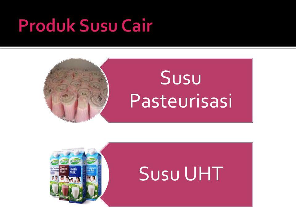 Produk Susu Cair Susu Pasteurisasi Susu UHT