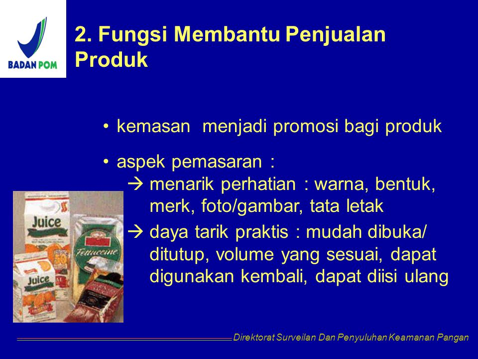 2. Fungsi Membantu Penjualan Produk