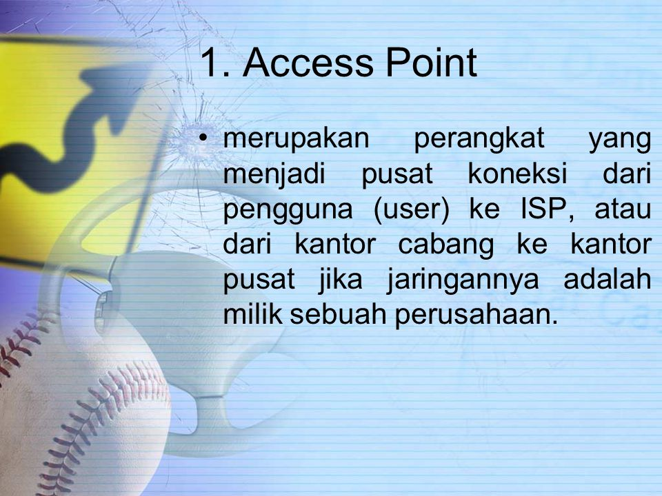 1. Access Point
