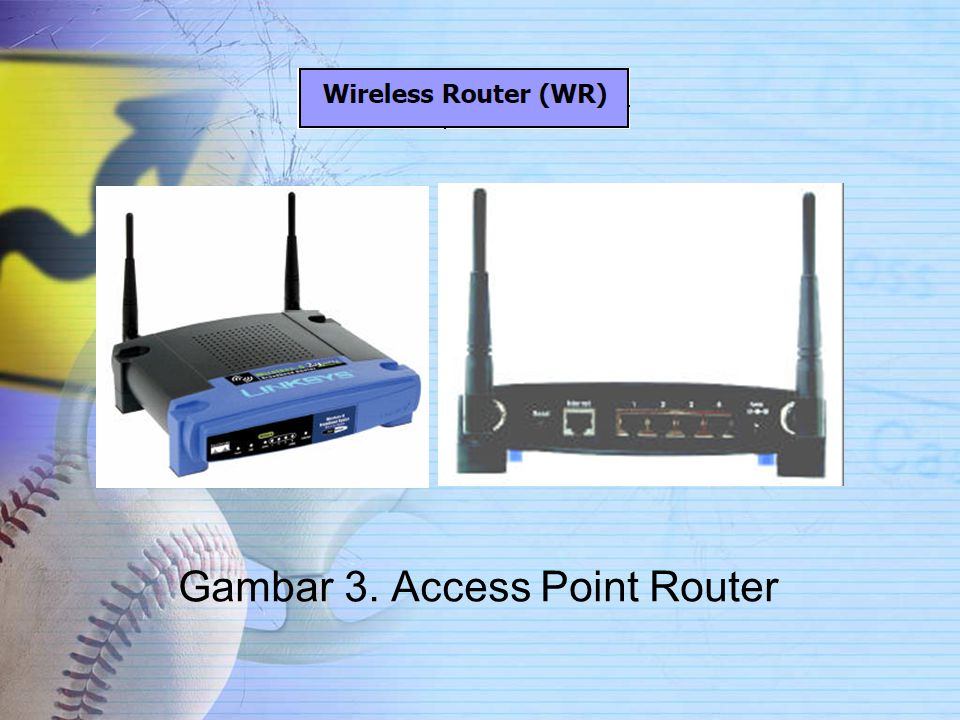 Gambar 3. Access Point Router