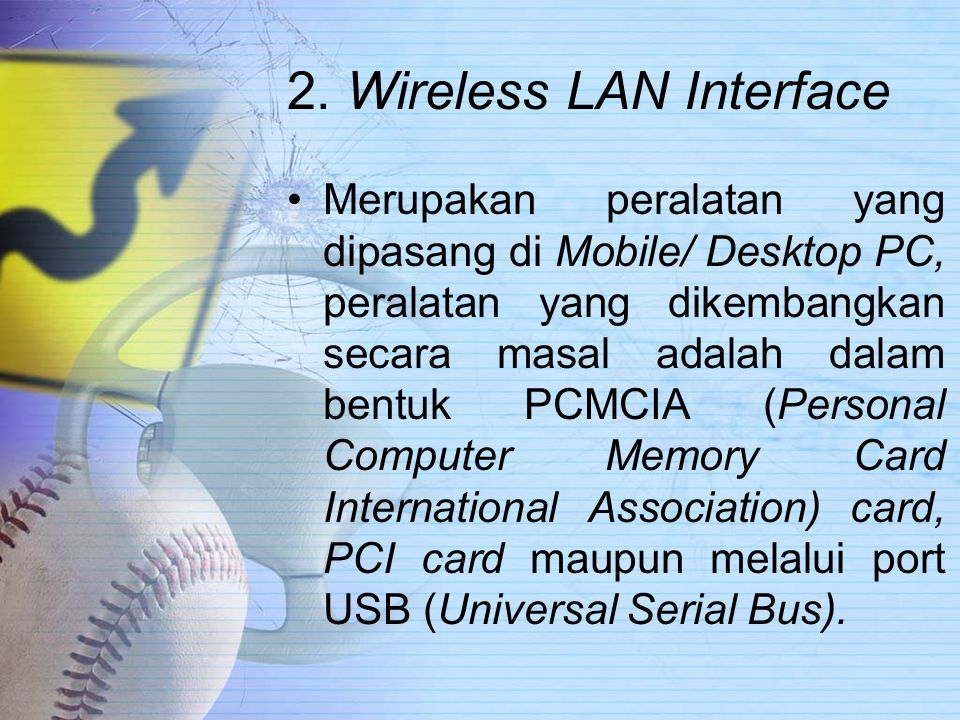 2. Wireless LAN Interface