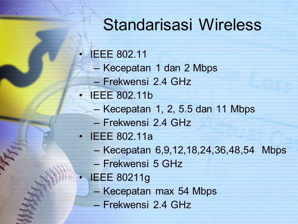 Standarisasi Wireless