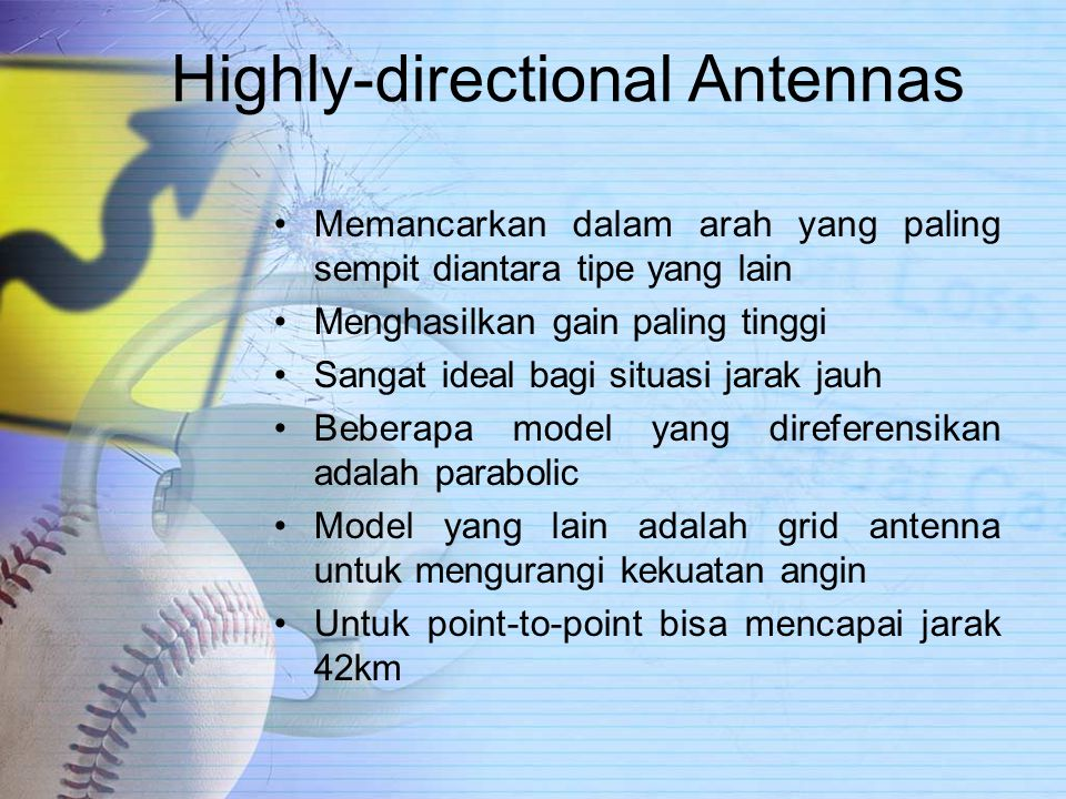 Highly-directional Antennas