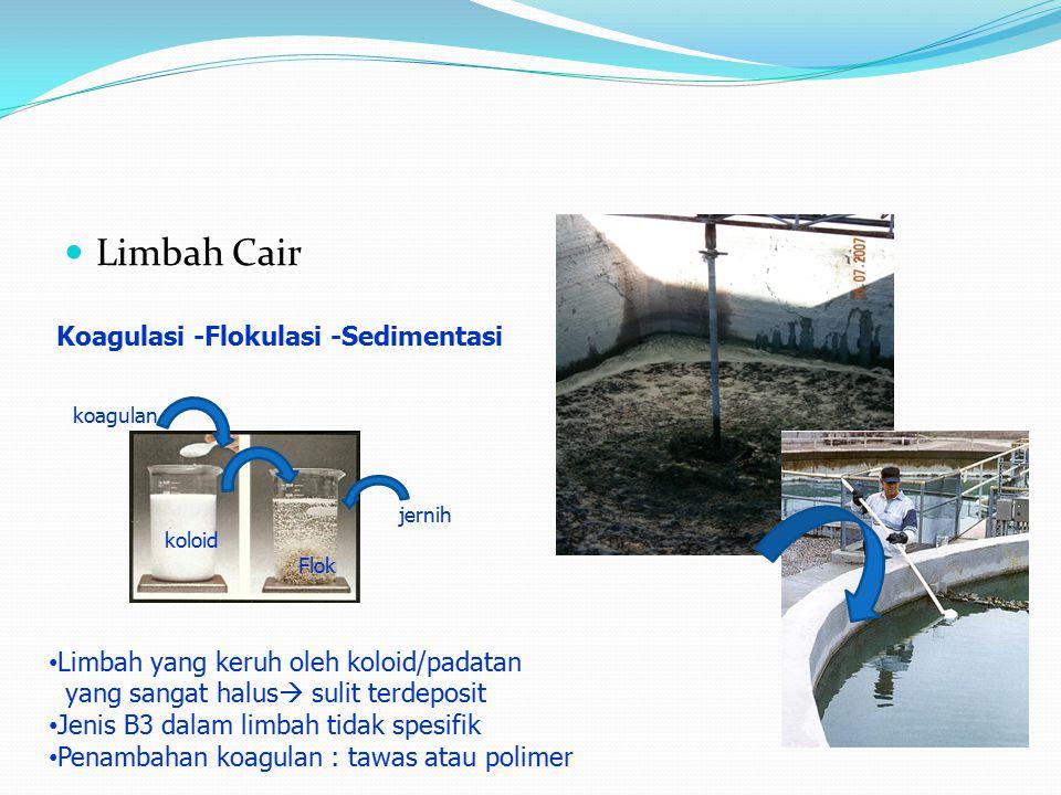 Limbah Cair Koagulasi -Flokulasi -Sedimentasi