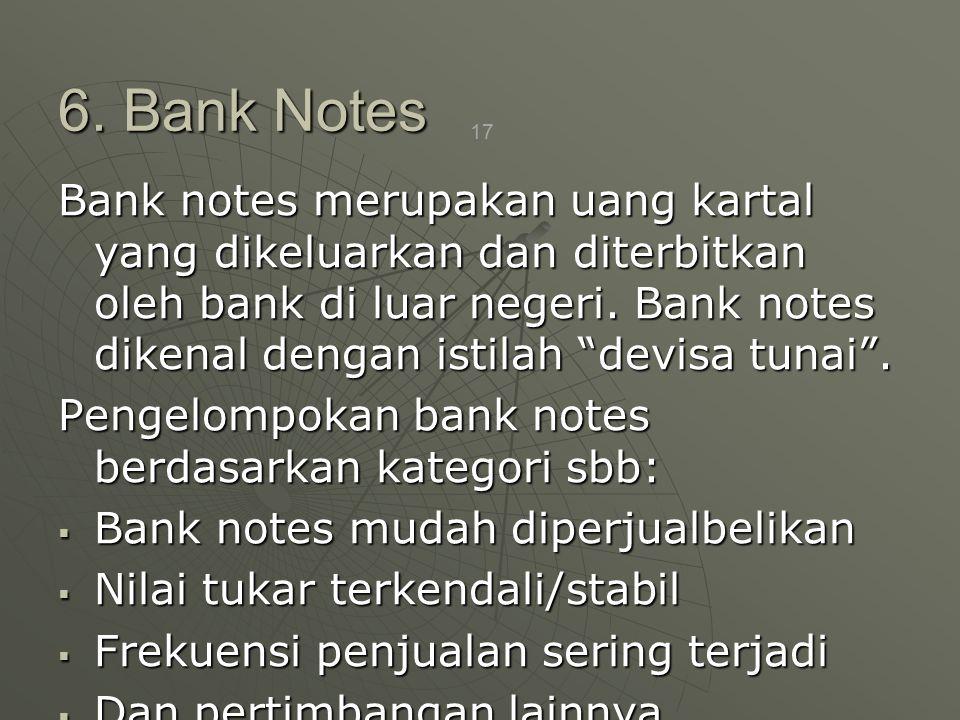 6. Bank Notes