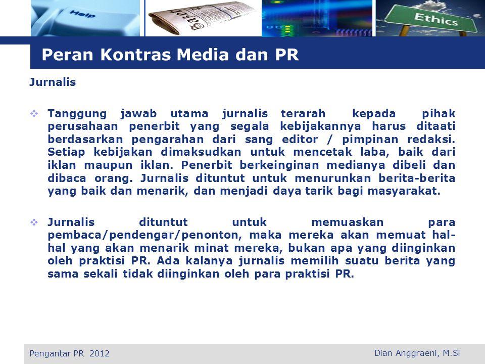 Peran Kontras Media dan PR