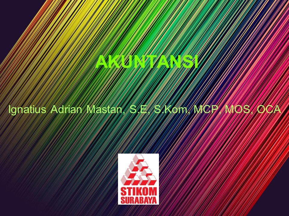 Ignatius Adrian Mastan, S.E, S.Kom, MCP, MOS, OCA