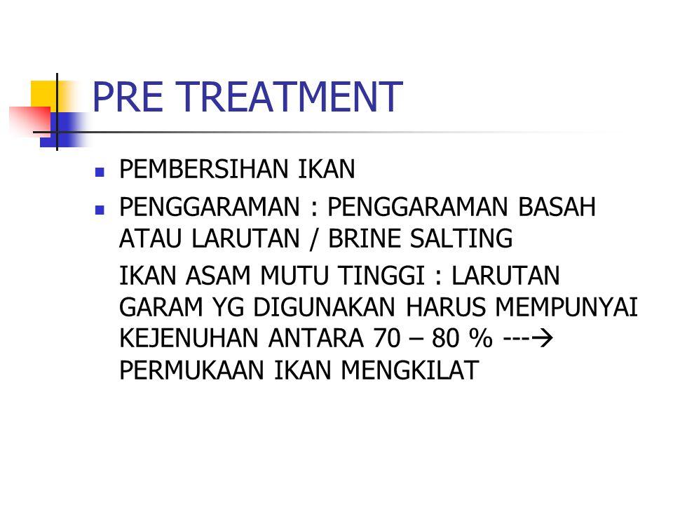 PRE TREATMENT PEMBERSIHAN IKAN