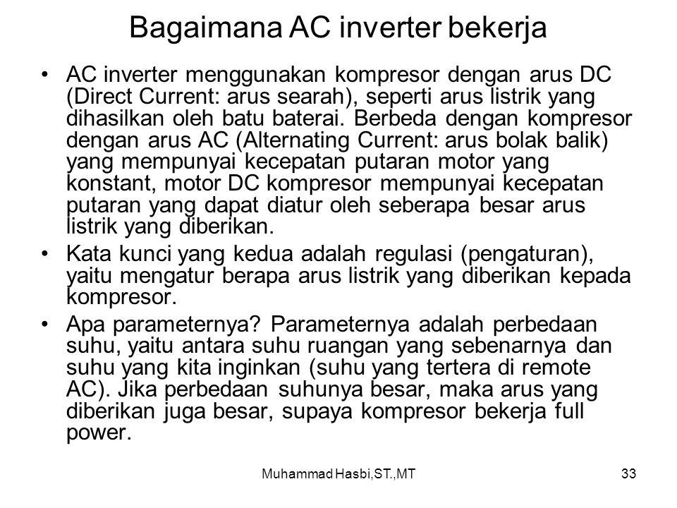 Bagaimana AC inverter bekerja