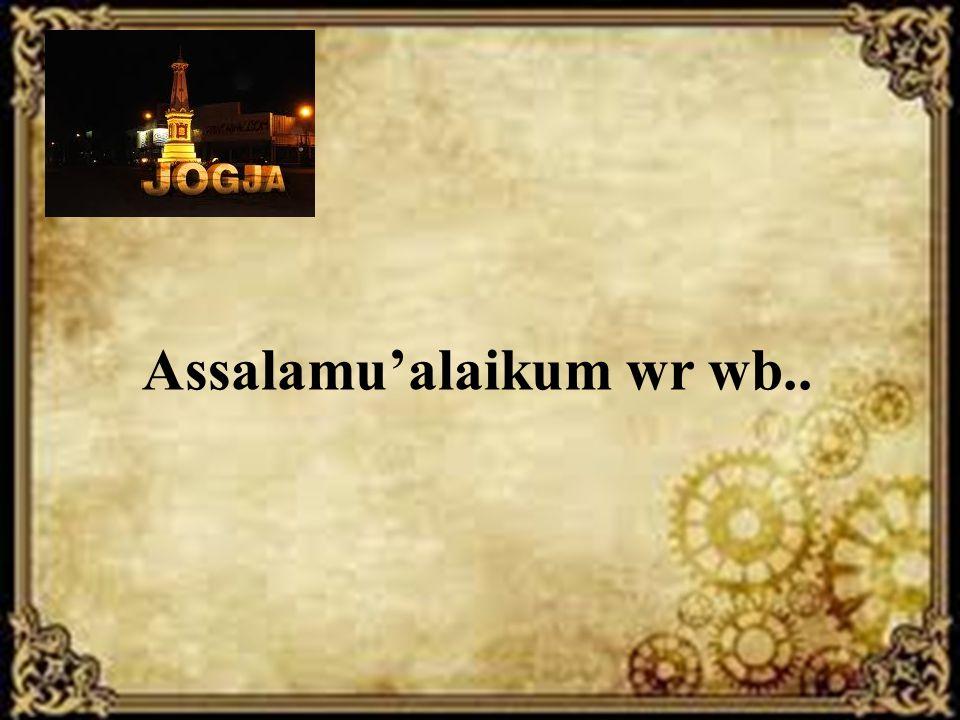 Assalamu'alaikum wr wb..
