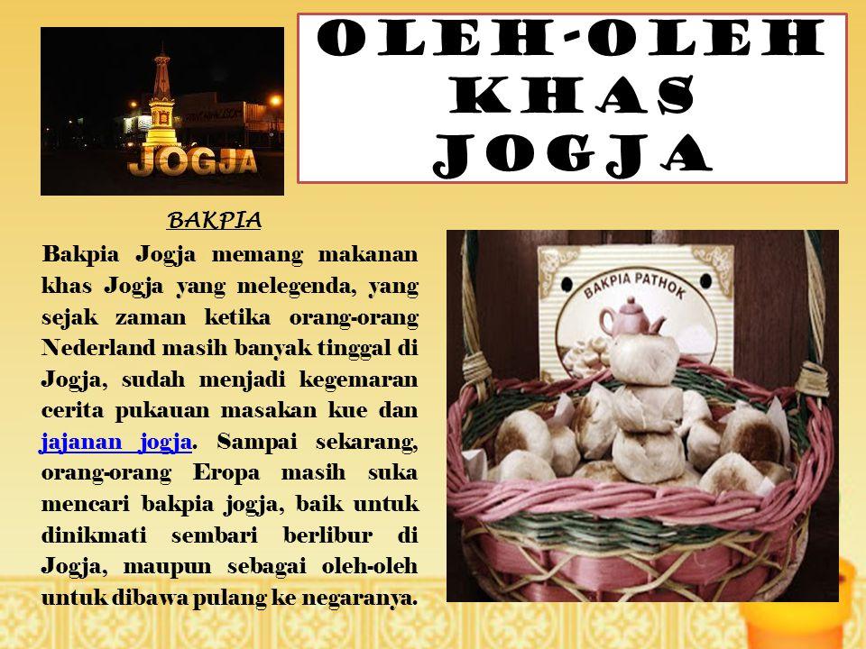 OLEH-OLEH KHAS JOGJA