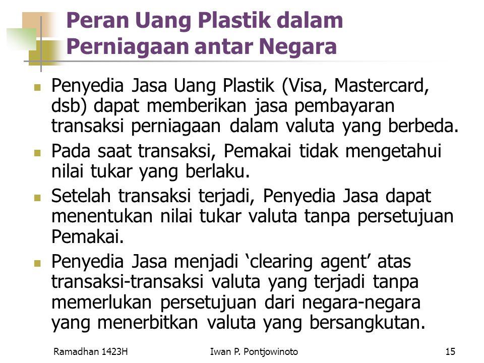 Peran Uang Plastik dalam Perniagaan antar Negara