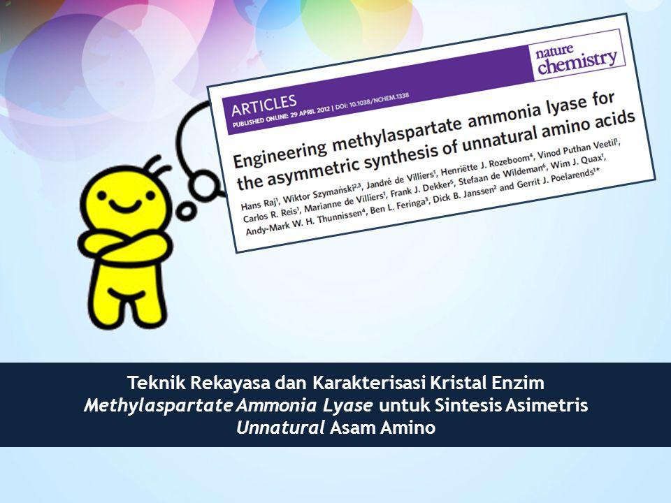 Teknik Rekayasa dan Karakterisasi Kristal Enzim