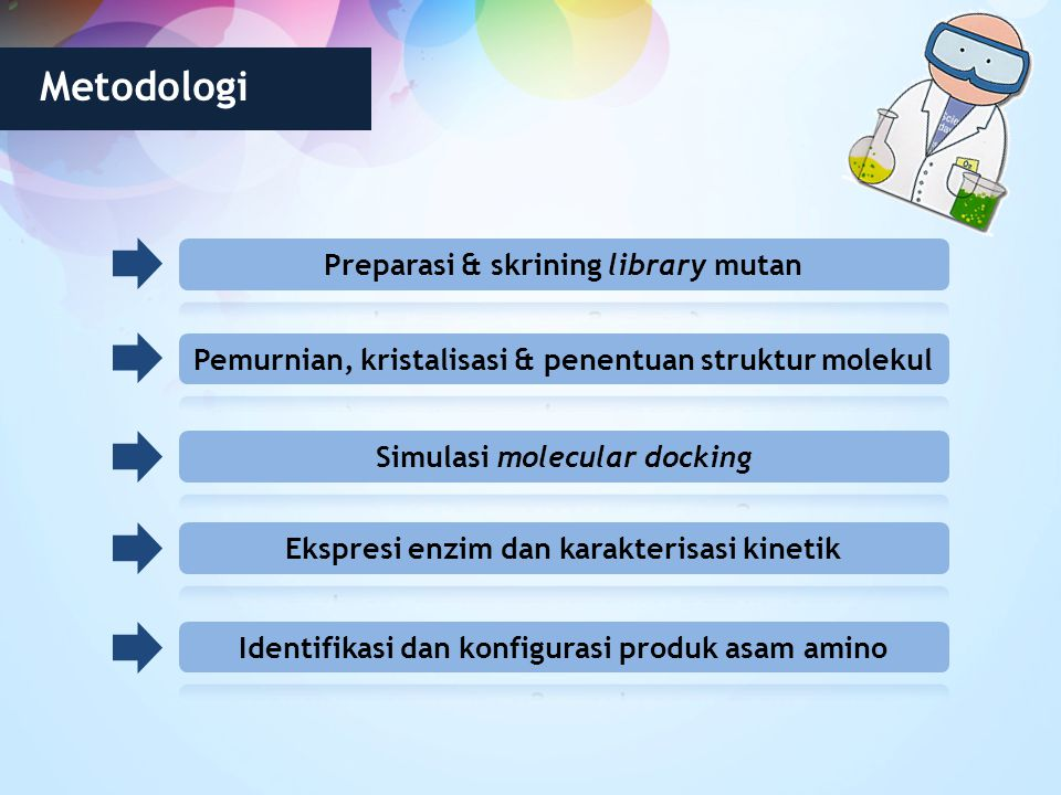 Metodologi Preparasi & skrining library mutan