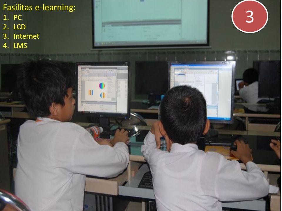Fasilitas e-learning: