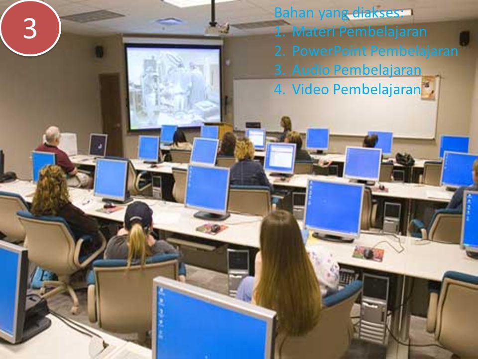 3 Bahan yang diakses: Materi Pembelajaran PowerPoint Pembelajaran