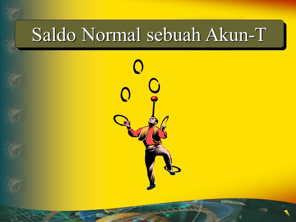 Saldo Normal sebuah Akun-T